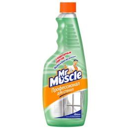 Мистер Мускул чистящее и моющее средство с нашатырным спиртом сменная бутылка, 500 мл
