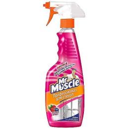 """Мистер Мускул чистящее и моющее средство """"Ammonia-D Лесные ягоды"""" с распылителем, 500 мл"""