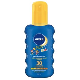 """Nivea Sun солнцезащитный спрей """"Цветной"""" СЗФ 30 детский, 200 мл"""