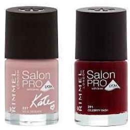 """Rimmel набор лаков для ногтей """"Salon Pro With Lycra"""""""