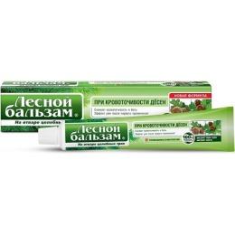 """Лесной бальзам зубная паста """"Профилактическая"""" с экстрактами коры дуба и пихты, на отваре трав, 75 мл"""