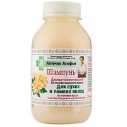 Аптечка Агафьи шампунь для сухих и ломких волос, 300 мл