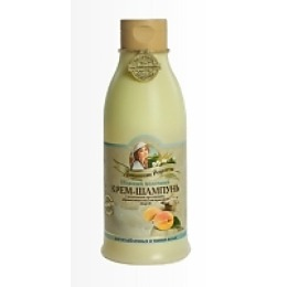 """Домашние рецепты крем-шампунь"""" Нежный, молочный"""" для ослабленных волос, 500 мл"""