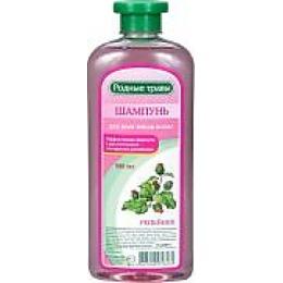 """Природная Аптека шампунь """"Родные травы. Репейник"""" для всех типов волос, 500 мл"""