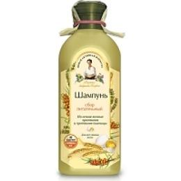 """Рецепты бабушки Агафьи шампунь """"Сбор. Питательный"""" для всех типов волос, 350 мл"""
