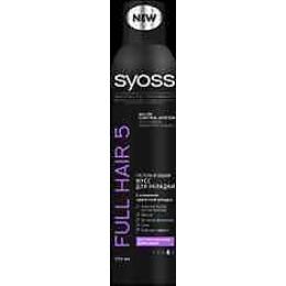 "Syoss мусс для укладки ""Full Hair 5"" экстрасильная фиксация, 250 мл"