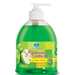 """Русалочка жидкое мыло """"Зелёное яблоко"""", 500 мл"""