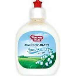 """Русское поле жидкое мыло для рук """"Ландыш"""", 300 мл"""