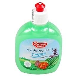 """Русское поле жидкое мыло для рук """"Семь трав"""", 300 мл"""