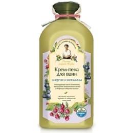 """Рецепты бабушки Агафьи крем-пена для ванн """"Энергия и витамины"""", 500 мл"""