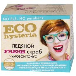 """Ecohysteria скраб для тела """"Fresh ледяной Чумовой тонус"""", 300 мл"""
