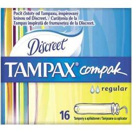 """Tampax тампоны женские""""Compak Regular"""" гигиенические, с аппликатором, 8 шт"""