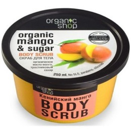 "Organic Shop скраб ""Mango"" для тела, 450 мл"