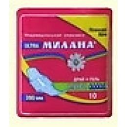 """Милана прокладки """"Ultra maxi dry"""" гель, гигиенические, 10 шт"""