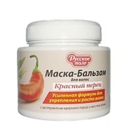 """Русское поле маска-бальзам  для волос """"Красный перец и масло оливы"""", 250 мл"""