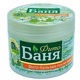 """Русское поле бальзам для лица и тела """"Фито-Баня"""" после бани, на целебных травах, для упругости кожи и интенсивного увлажнения, 300 мл"""