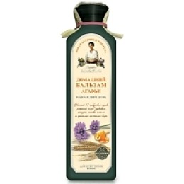 """Рецепты бабушки Агафьи бальзам для волос """"Домашний. Агафьи"""" на каждый день, 350 мл"""