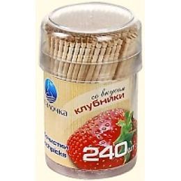 Русалочка зубочистки со вкусом клубники, 240 шт