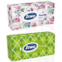 "Zewa платки в коробке ""Family"", 90 шт"