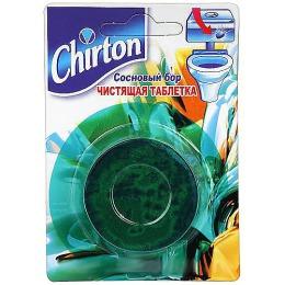 """Chirton чистящие таблетки для унитаза """"Сосновый бор"""", 50 г"""