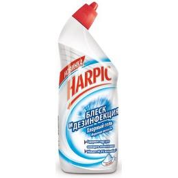 """Harpic истящее средство """"Блеск и Дезинфекция. Морозная Свежесть"""" с дезодорирующим эффектом, 750 мл"""