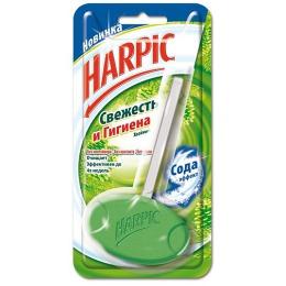 """Harpic туалетный блок для унитаза """"Свежесть и Гигиена. Хвойный"""", 40 гр."""