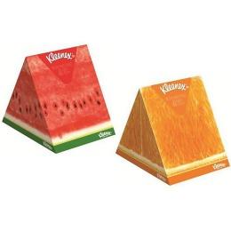 "Kleenex салфетки в коробке ""Арома"", 56 шт"