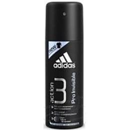 "Adidas антиперспирант ""Action 3. Dry Max Pro Invisible"" спрей мужской, 150 мл"