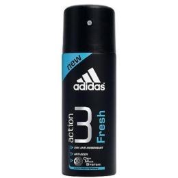 "Adidas антиперспирант ""Action 3. Fresh 24 часа"" спрей мужской, 150 мл"