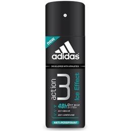 "Adidas антиперспирант ""Action 3. Dry Max Ice Effect"" спрей мужской, 150 мл"