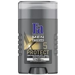 """Fa антиперспирант """"Xtreme Protect 5"""" мужской, стик, 50 мл"""
