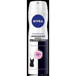 "Nivea дезодорант ""Невидимая защита для черного и белого Clear"" спрей, 150 мл + стикер"