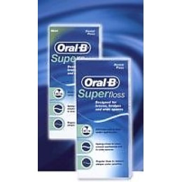 "Oral-B зубная нить ""Superfloss"", 50 м"