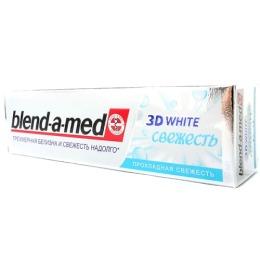 """Blend-a-med зубная паста """" 3D White. Прохладная свежесть"""", 100 мл"""