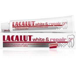 "Lacalut зубная паста ""White & repair"", 50 мл"