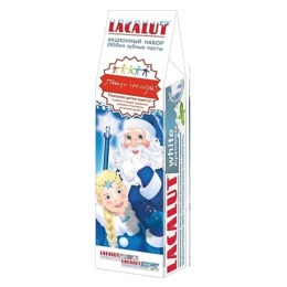 "Lacalut набор: зубная паста ""White"", 50 мл +  зубная паста """"White. Альпийская мята"", 50 мл"
