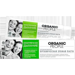 """Organic people зубная паста """"Безупречное дыхание"""", 100 мл"""