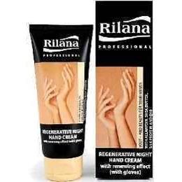 """Rilana крем для рук """"Professional"""" ночной, востанавливающий, с омолаживающим эффектом + перчатки, 100 мл"""