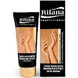 """Rilana маска для рук """"Professional"""" с омолаживающим эффектом + перчатки, 100 мл"""