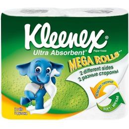 "Kleenex полотенца кухонные ""Премиум Мега"", 2 шт"