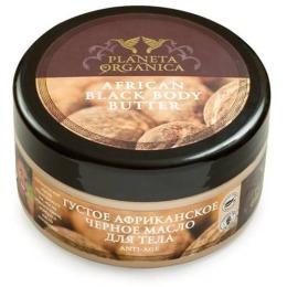 """Planeta Organica масло для тела """"Африканское"""" густое, чёрное, anti-age, 100 мл"""