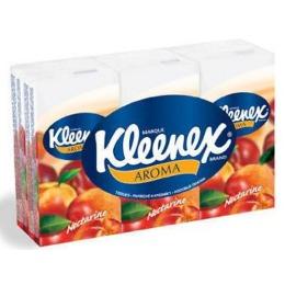 """Kleenex платочки носовые """"Нектарин"""""""