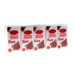 Amra платочки бумажные с ароматом розы, 10 шт