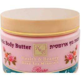 """Health Beauty сливки для тела """"Шиповник"""" укрепляющие, питательные, 350 мл"""