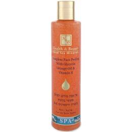 """Health Beauty пилинг для лица """"Очищающий"""" с глицерином, апельсиновым маслом и витамином Е, 250 мл"""