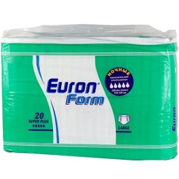 "Helen Harper подгузники для взрослых ""Euron Form Large Super Plus"", 20 шт"