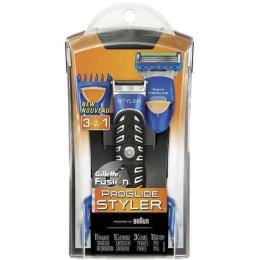 """Gillette стайлер с 1 сменной кассетой """"Fusion ProGlide Power"""" и 3 насадки для моделирования бороды и усов"""