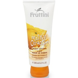 "Fruttini лосьон для тела ""Молочный апельсин"", 200 мл"
