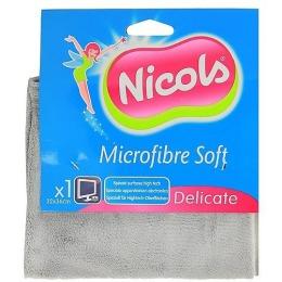 """Nicols салфетка из микрофибры """"SOFT"""" для оргтехники"""