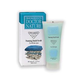 """Doctor Nature скраб для лица """"Пенящийся"""" для всех типов кожи, 100 мл"""